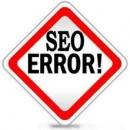 Những lỗi thường gặp khi làm SEO